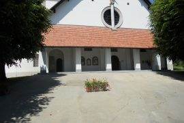 Sanacija vhoda cerkve v Bogojini