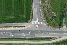 Cestni priključek in most v Beltincih