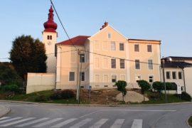 Sanacija fasade starega dela OŠ Cezanjevci