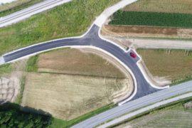 Ureditev cestnega odseka Bratonci-Dokležovje