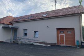 Dozidava in obnova vaško-gasilskega doma v Veščici